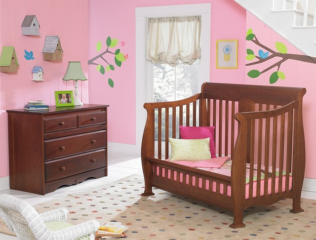 Kathryn Crib Converted Into Toddler Bed