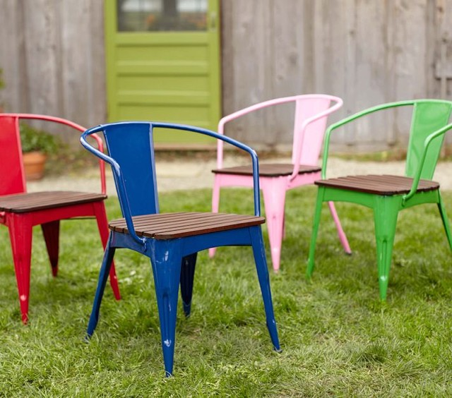 Metal And Wood Chair Contemporary Kids Chairs By Pottery Barn Kids