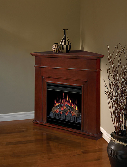 corner electric fireplace dfp3670c traditional indoor fireplaces