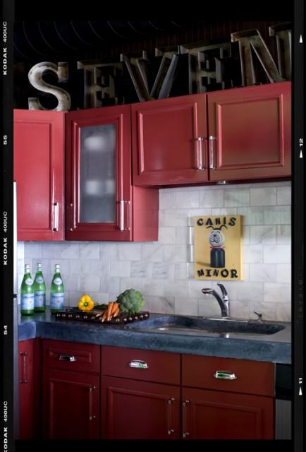 Decor Demon's Loft eclectic-kitchen