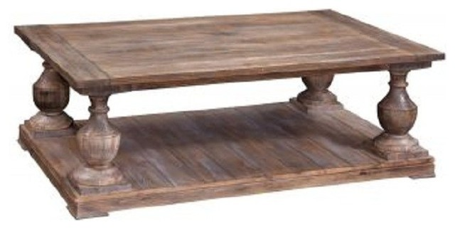 Bassett Mirror - Hitchcock Rectangular Cocktail Table - T2618-100 traditional-coffee-tables