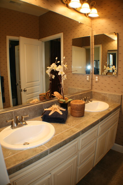 New Construction eclectic-bathroom