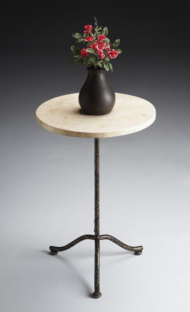 Butler Furniture Metalworks Pedestal Table - 6068025 - traditional