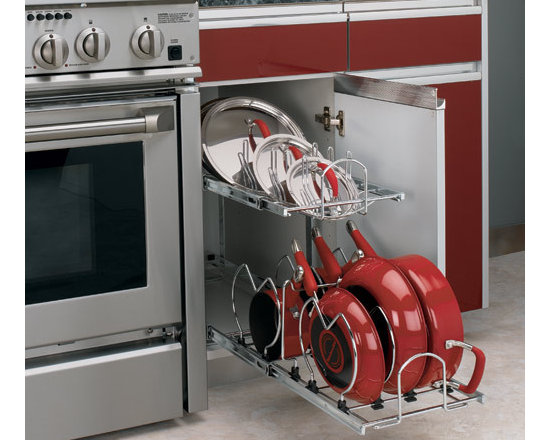 Two-Tier Cookware Organizer -