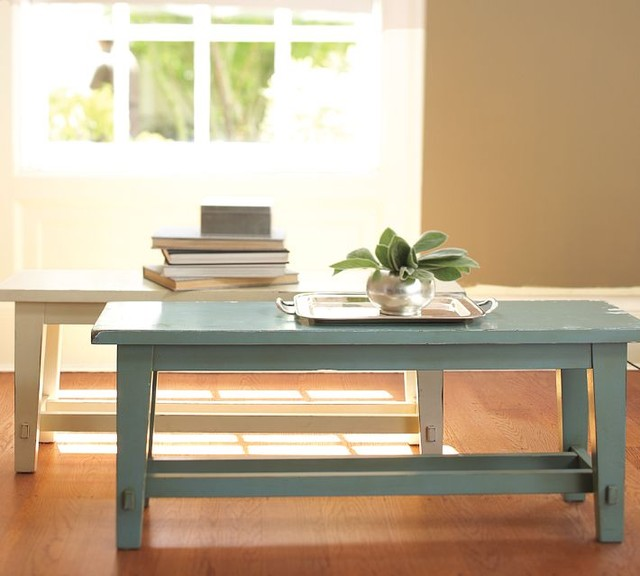Blakely Rustic Bench traditional-indoor-benches