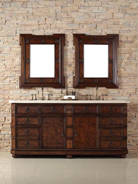 """72"""" Regent Double Sink Vanity traditional-bathroom-vanities-and-sink-consoles"""