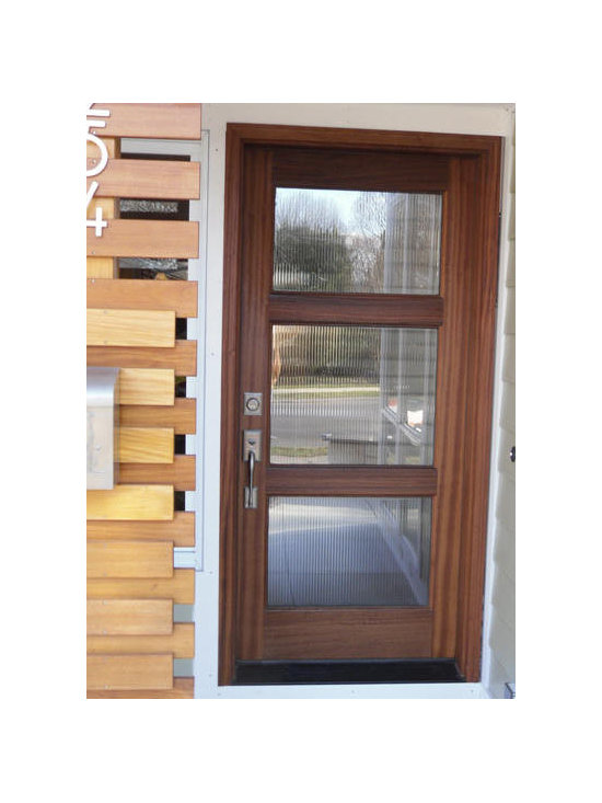 Contemporary modern front entry doors for 15 panel glass exterior door