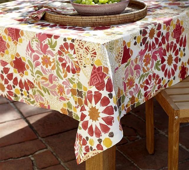 ... , Red - Contemporary - Tablecloths - sacramento - by Pottery Barn