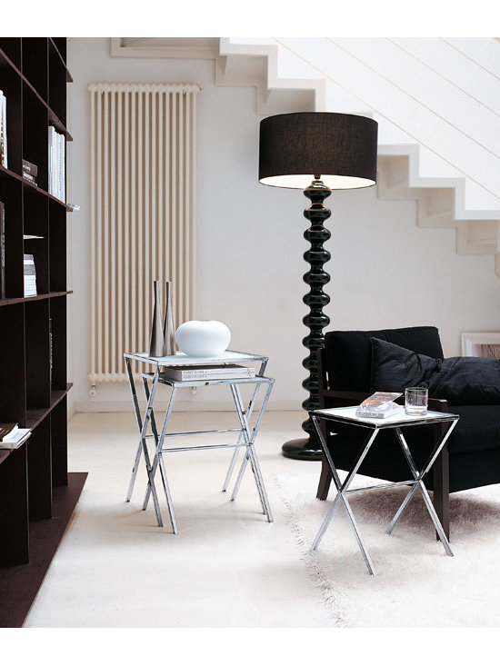 Lescano End Tables and Babele Floor Lamp - Porada.it
