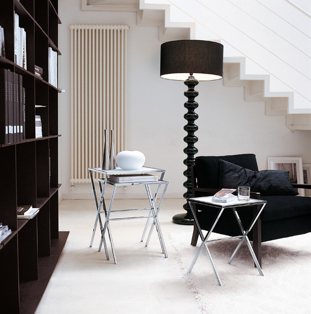 Lescano End Tables and Babele Floor Lamp - floor lamps - toronto
