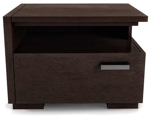 Paris Bedroom Collection: Nightstand - contemporary - nightstands