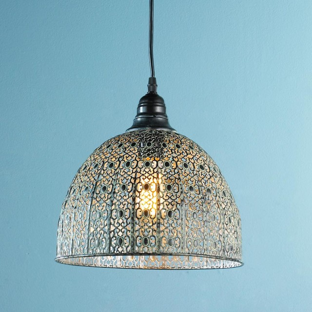 Vintage Lace Pendant - Pendant Lighting - by Shades of Light