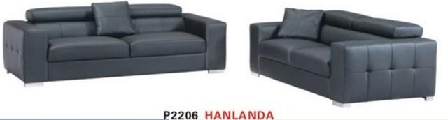 leather sectional sofa 1+2+3 (modern) modern