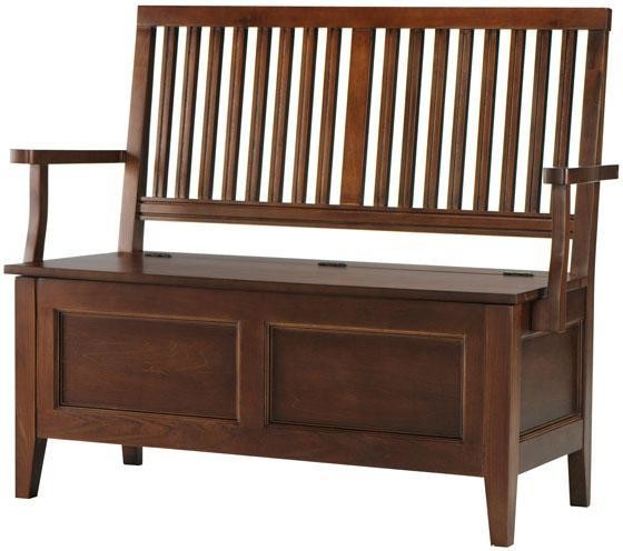 Martha Stewart Living Solutions Entry Bench 47 Wx21 Dx38 H Sequoia Traditional Accent And