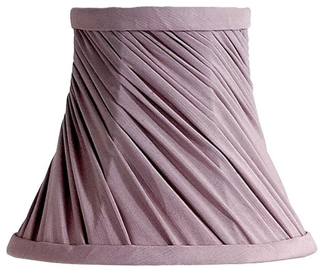 Laura Ashley Lamp Shades Chelsea 7 in. Mauve Bell Clip Shade Purple ...