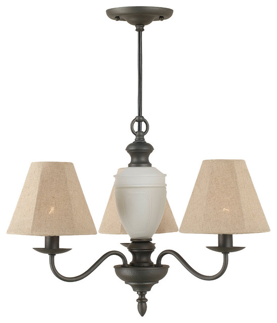 Manhasset 3-Light Chandelier By Royce Lighting With