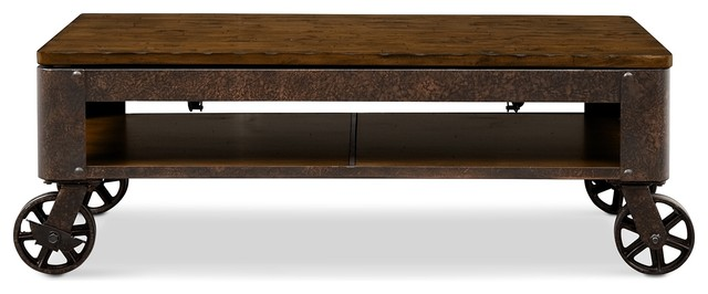 Erie Lift Top Coffee Table Industrial Furniture