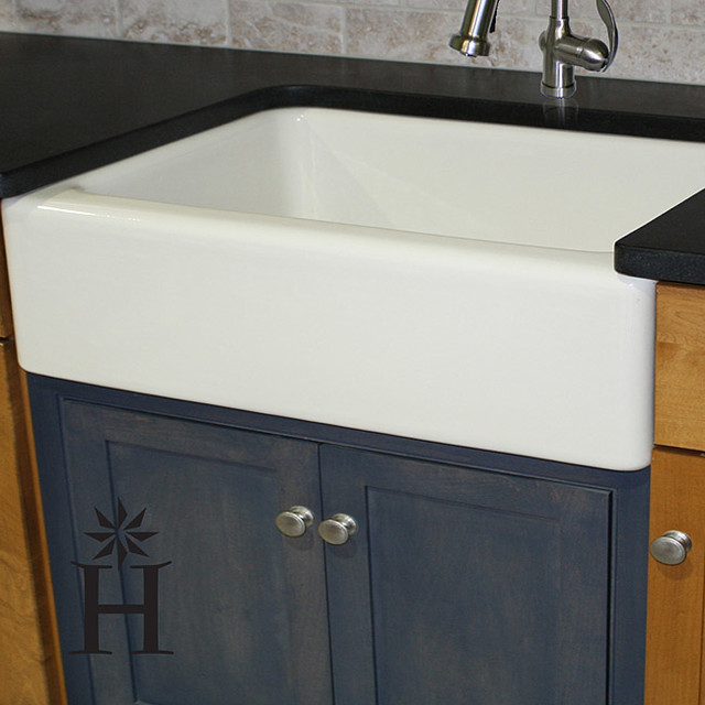 30 Kitchen Sink : Fireclay 30-inch Farmhouse Kitchen Sink - Contemporary - Kitchen Sinks ...