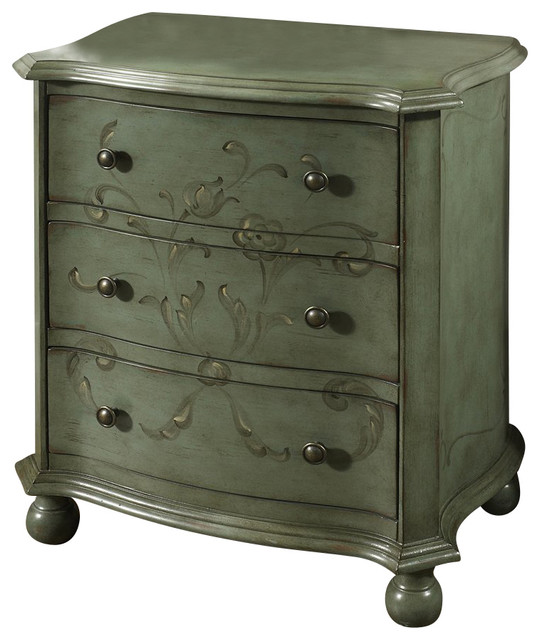 Accent Chest Blue Mist Cabinet by Pulaski Furniture contemporary-dressers