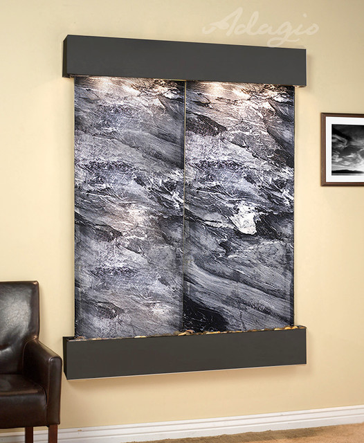 Customizable Wall Water Features contemporary-indoor-fountains