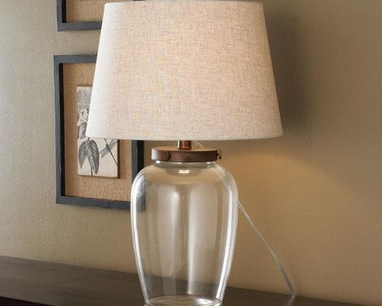 Fillable Jug Table Lamp -