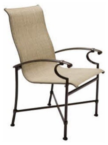 Winston Charleston Sling High Back Dining Chair - Set of 2 modern-dining-chairs