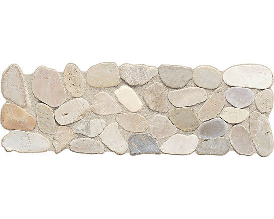 Highland Ridge Light Riverstone Pebble Accent -