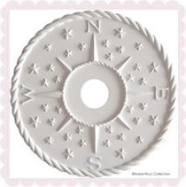 Nautical Ceiling Medallions traditional lighting
