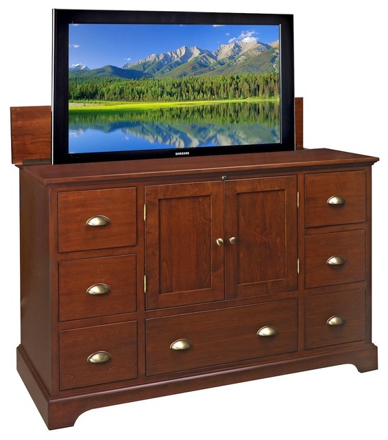TVLIFTCABINET Restoration TV Lift Cabinet contemporary-media-storage