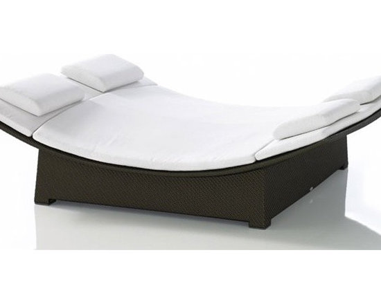 Attie Double Wide Patio Bed
