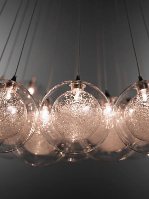 kadur cluster chandelier contemporary pendant lighting