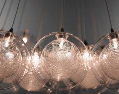 Kadur Cluster Chandelier contemporary-pendant-lighting