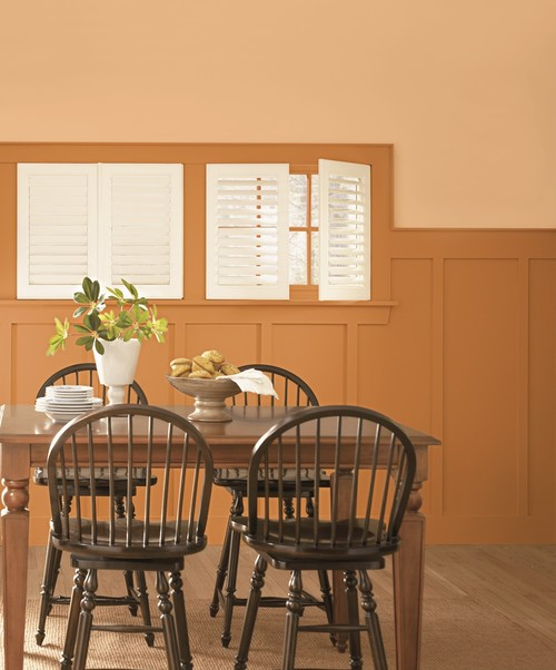 Dining Room Window: Dining Room Window Treatment Ideas