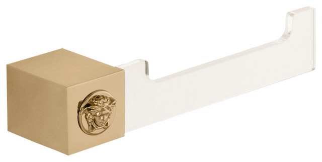 Versace Unique Gold Toilet Paper Roll Holder Modern