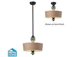 HGTV Veronica Semi-Flush / Pendant pendant-lighting