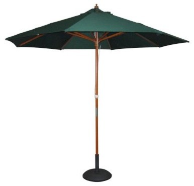 Balau 8 ft. Push Up Patio Umbrella modern-outdoor-umbrellas