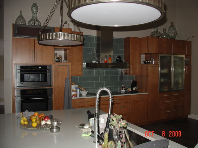 A Euro Project from the past contemporary-kitchen