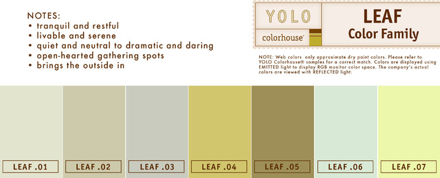 YOLO Colorhouse LEAF Family paints-stains-and-glazes