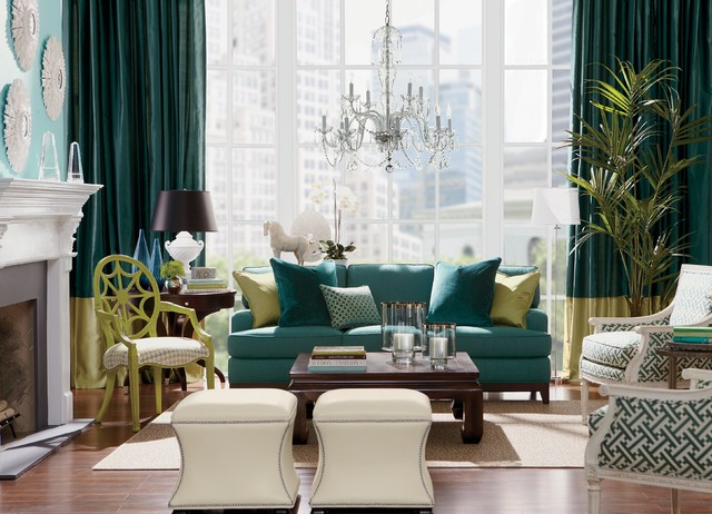 Ethan Allen traditional-living-room