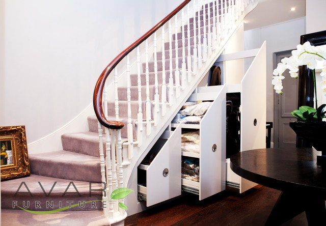 Bespoke Under Stairs Shelving: Under Stairs Storage Solutions In London
