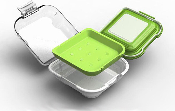 Perfect Sandwich Box modern food containers and storage