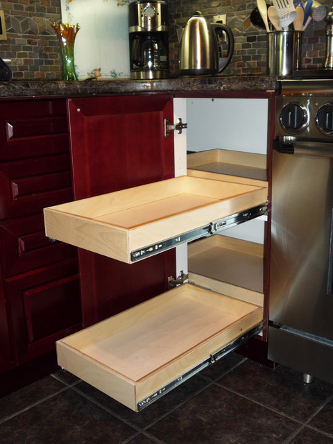 hidden corner kitchen cabinet kitchen cabinetry toronto by gliding shelf solutions inc. Black Bedroom Furniture Sets. Home Design Ideas