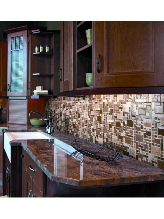 Pucinni glass tile mosaic Rococo series - Pucinni glass tile mosaic Rococo series