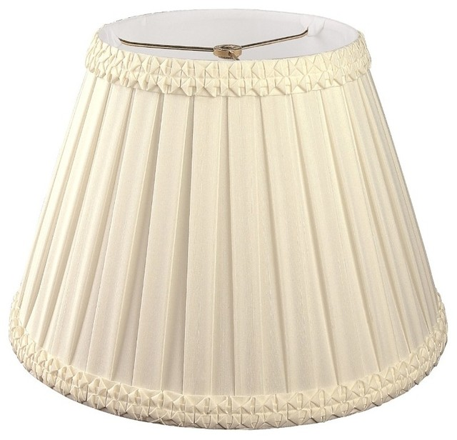 Pleated Square with Top Gallery Designer Lampshade traditional-lamp-shades