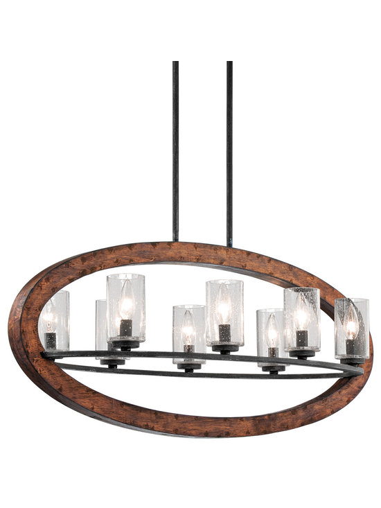 Grandiose Chandeliers - Grand Bank - Chandelier Linear 8Lt