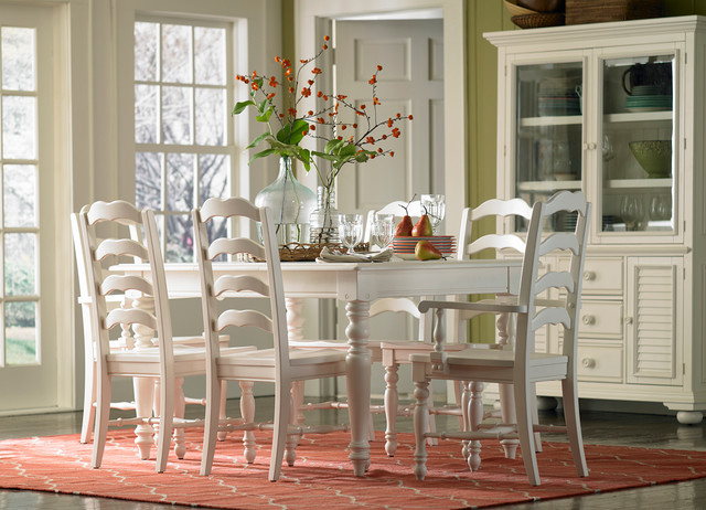 Cottage retreat dining dining tables other metro by for Dining room tables havertys