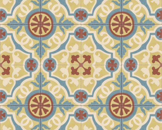 In Stock Cement Tile - Amalia Cafe from Cement Tile Shop