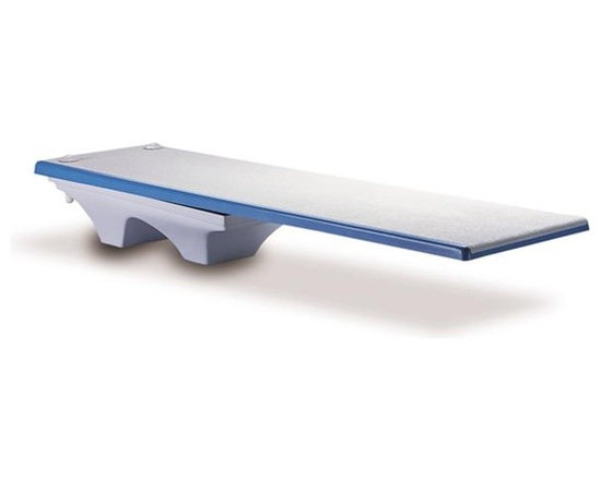 Inter-Fab 6 ft. Los Arcos Complete Diving Board - White - -Easily get a fun diving board in your own home pool!
