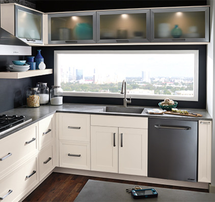 OFF-WHITE PAINT FINISH ON MAPLE - Modern - Rendering - new york - by Keystone Kitchen Cabinets ...