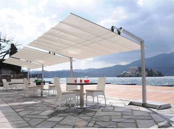 Italian Garden Awning contemporary gazebos